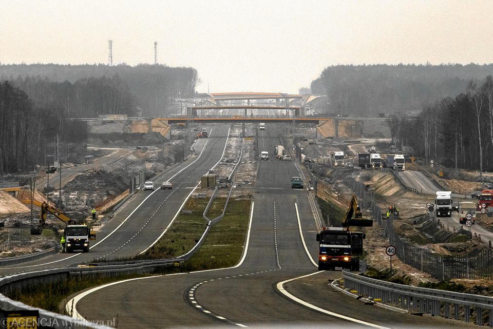 Budowa S17 między Kurowem a Garwolinem