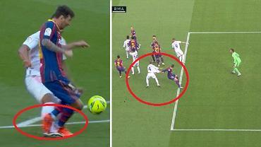 Kontrowersje w meczu FC Barcelona - Real Madryt