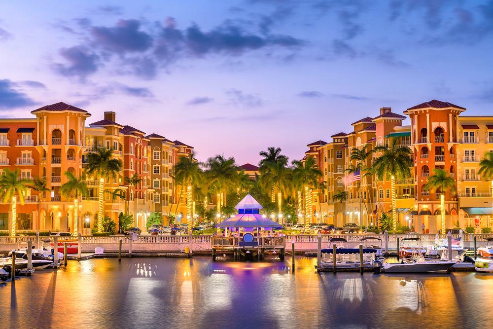Naples, Floryda, USA. Zdjęcie ilustracyjne