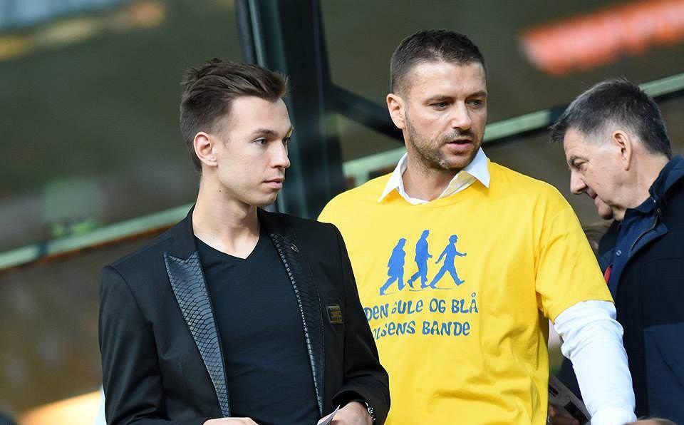 Dominik Midak i Wojciech Pertkiewicz
