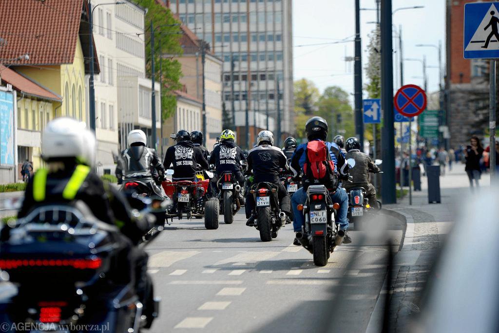 Tabunada 2018. Przez centrum Olsztyna przejechało 350 motocyklistów z całej Polski