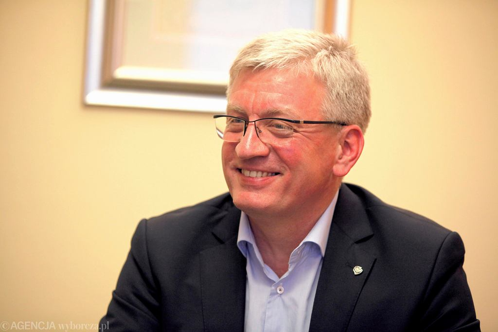 Jacek Jaśkowiak, zwycięzca II tury wyborów na prezydenta Poznania