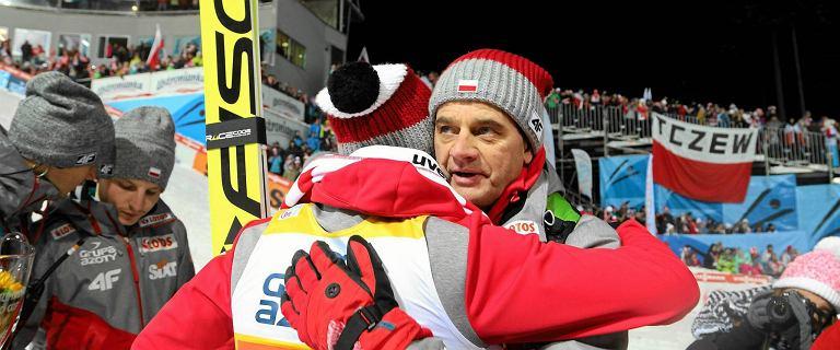 Stefan Horngacher pożegnał polskich skoczków w gorszym stylu niż oni pożegnali Austriaka