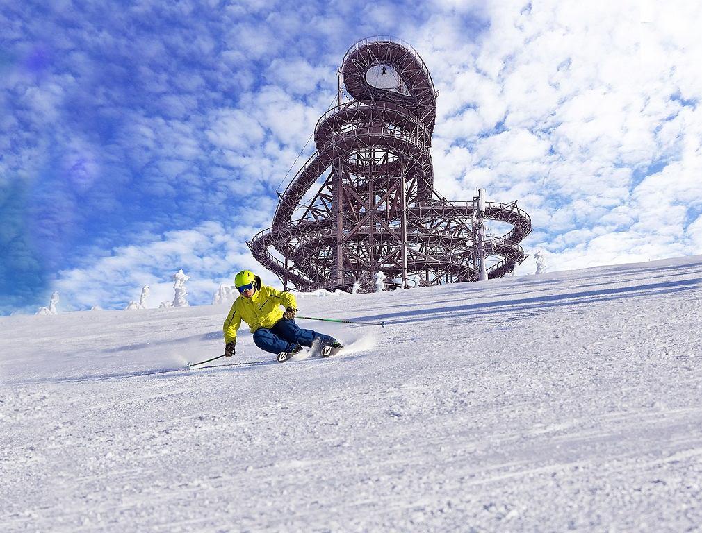 Dolni Morava przyciąga narciarzy nie tylko z Czech