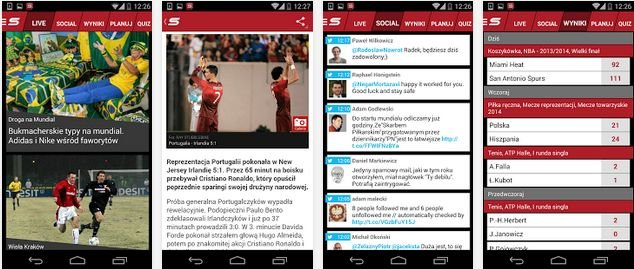 Aplikacja Sport.pl LIVE