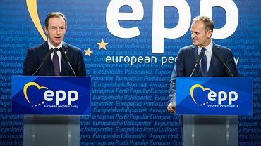 Tomasz Grodzki i Donald Tusk