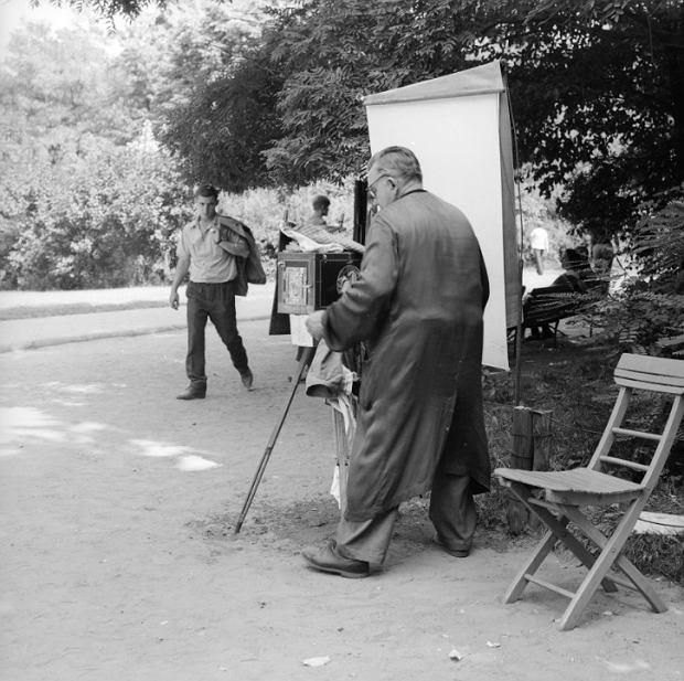 Park Skaryszewski w roku 1968