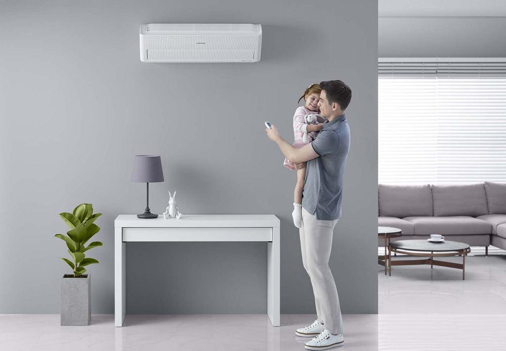 Klimatyzator marki Samsung