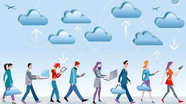 Dane i aplikacje w chmurach