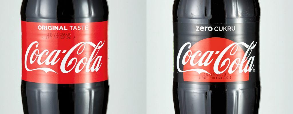 Coca cola vs Coca cola zero