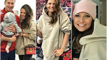 Anna Lewndowska nie rozstaje się z beżową bluzą