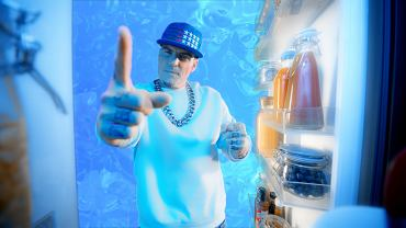 Vanilla Ice w kampanii Samsung.