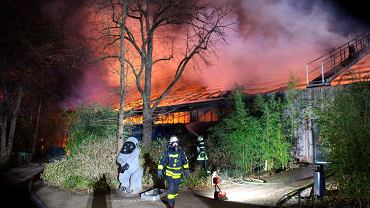Germany Zoo Fire