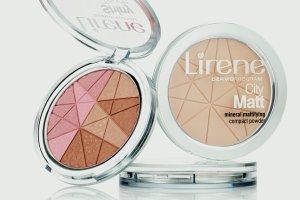Lirene - paleta multifunkcyjnych pudrów pielęgnacyjnych