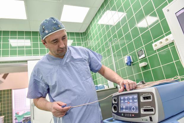 Szpital Uniwersytecki w Zielonej Górze, prof. Dawid Murawa, ordynator klinicznego oddziału chirurgii ogólnej i onkologicznej