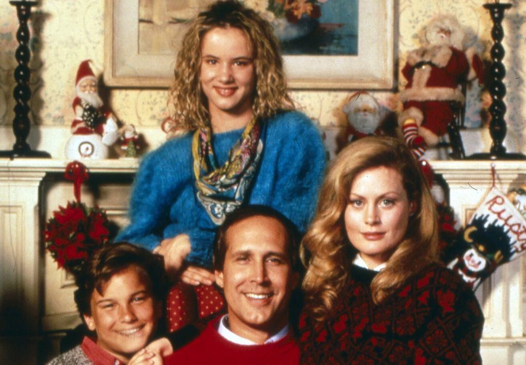 Rodzina Griswoldów: Audrey, Clark, Ellen i Rusty