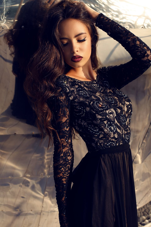 Wyrafinowana suknia