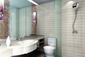 Łazienka: zasłaniamy prysznic