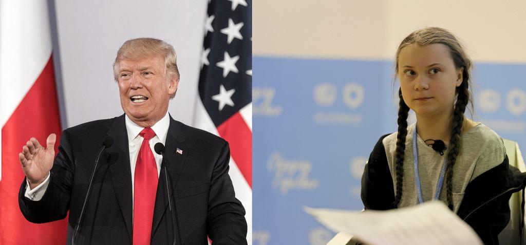 Donald Trump i Greta Thunberg wypowiedzą się ws. zmian klimatycznych podczas Światowego Forum Ekonomicznego w Davos