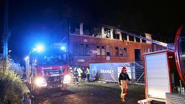 Szczecin. Pożar składowiska opon na Skolwinie