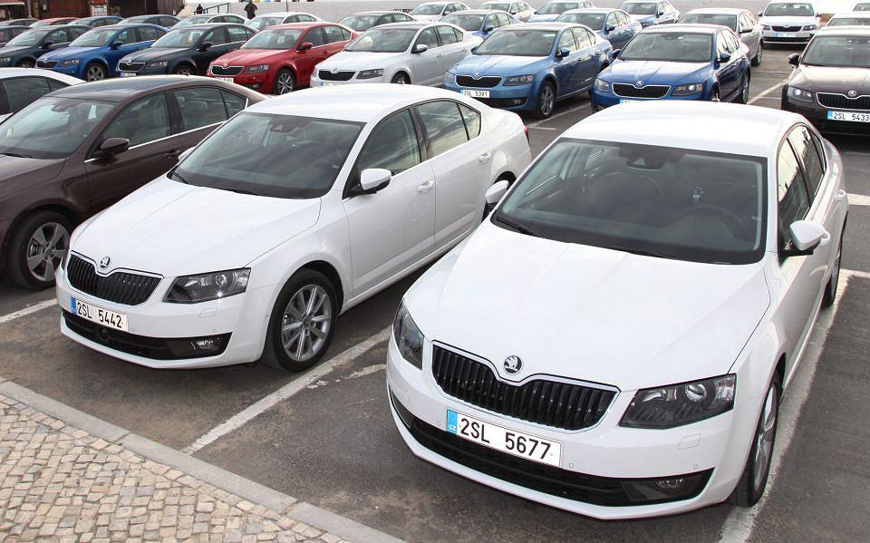 Skoda Octavia - najpopularniejszy nowy samochód w Polsce w pierwszym półroczu 2014 r.