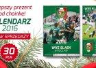 Kalendarz Śląska Wrocław na 2016 rok w sprzedaży. Promocja dla kibiców