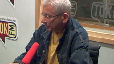 Ludwik Dorn w studiu Radia TOK FM