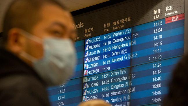 Koronawirus. British Airways i inne duże linie lotnicze odwołują połączenia z Chinami
