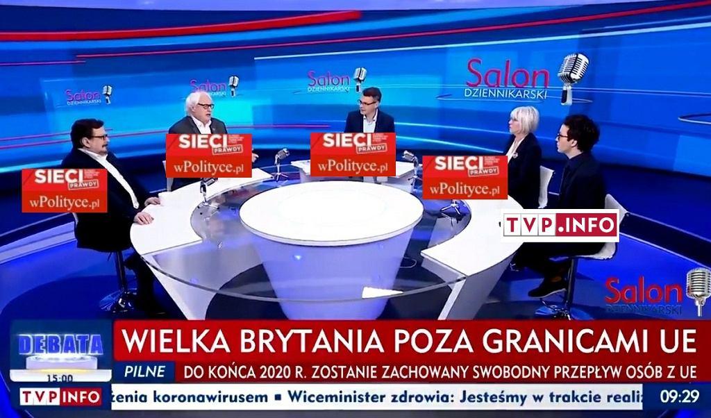 'Salon Dziennikarski' w TVP Info