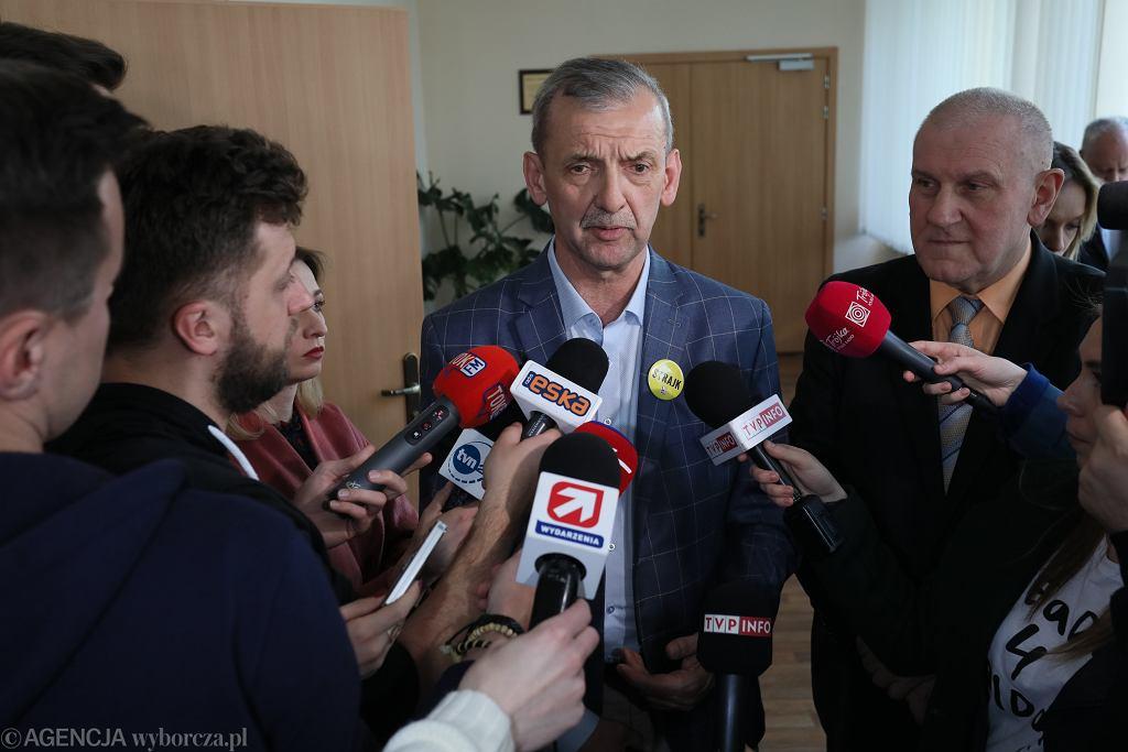 Przewodniczący Związku Nauczycielstwa Polskiego Sławomir Broniarz