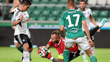 Legia Warszawa - GKS Bełchatów 0:1. W środku Arkadiusz Malarz
