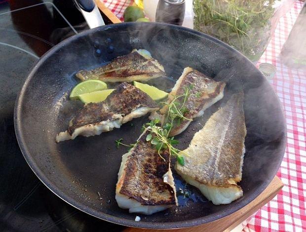 Ryba z tymiankiem i limonką