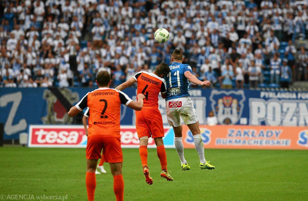 Lech Poznań - Zagłębie Lubin 0:2. Marcin Robak