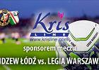 Producent bielizny damskiej sponsorem meczu Widzewa z Legią Warszawa