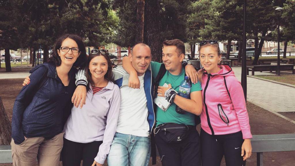 Anna w podróży po Gruzji z osobami poznanymi w Internecie (fot: materiały archiwalne)