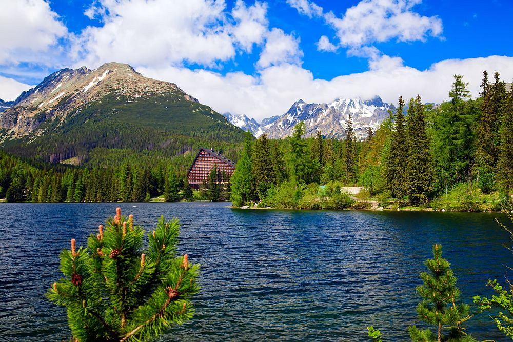 Szczyrbskie Jezioro, Tatry Wysokie, Słowacja
