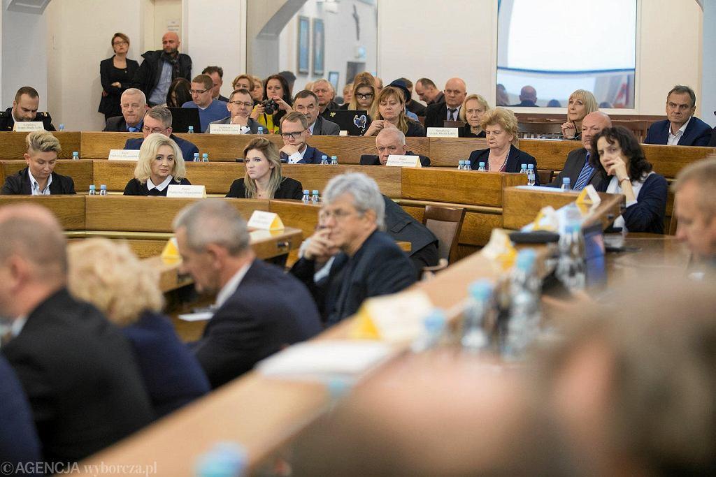 10.11.2017, Lublin, nadzwyczajna sesja Rady Miasta