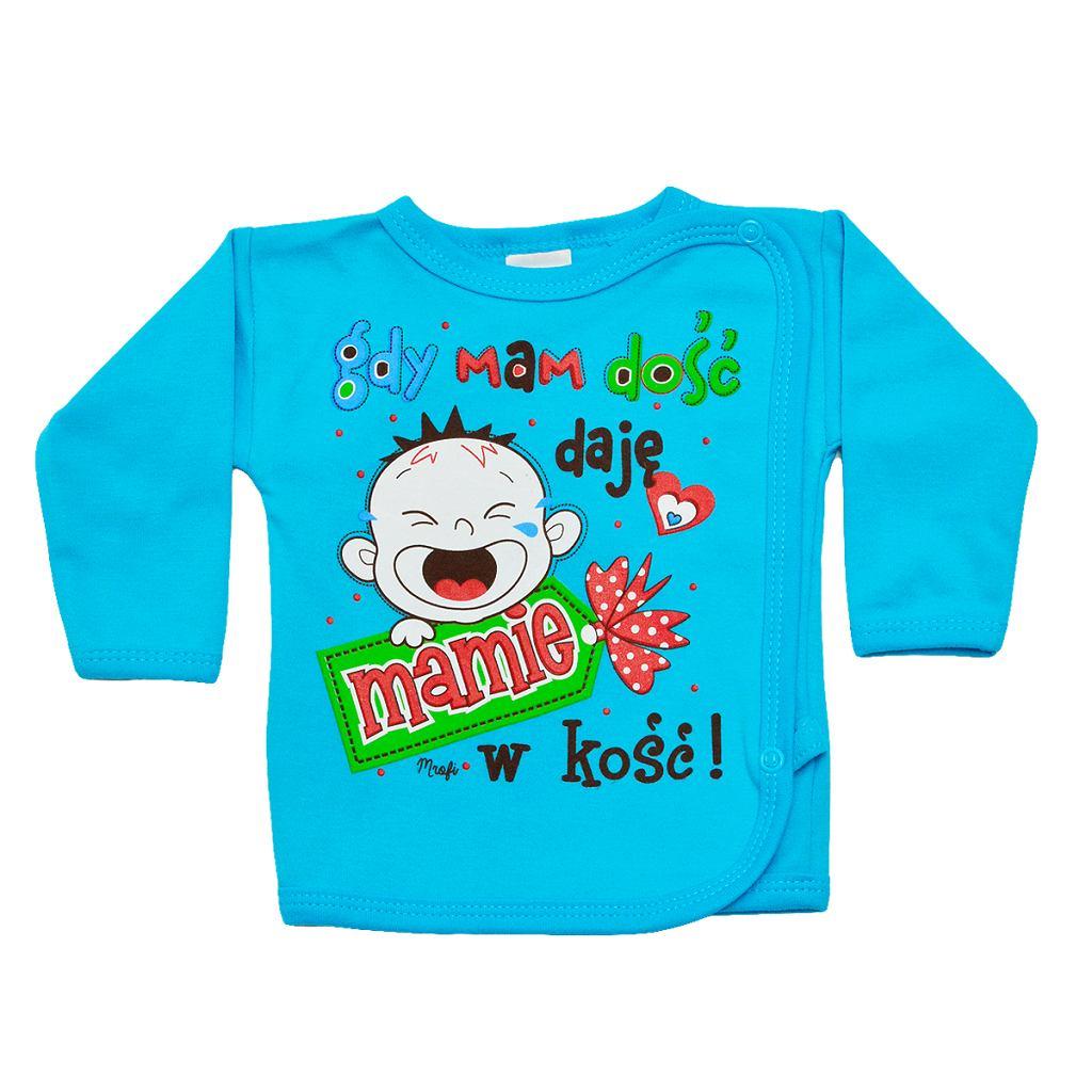 Ubranka z napisami sugerującymi, że tylko matki potrafią się właściwie zająć dziećmi, można dostać też w Polsce