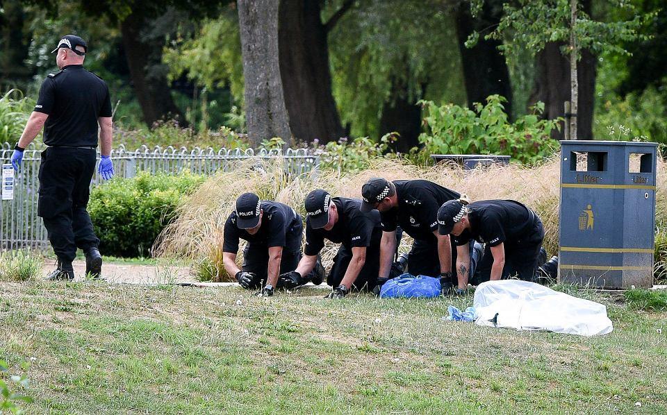 Salisbury. Policjanci badają okolicę, w której przebywała otruta nowiczokiem Dawn Sturgess