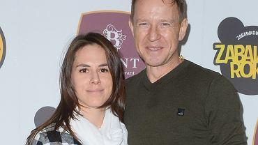 Wojciech Błach z żoną