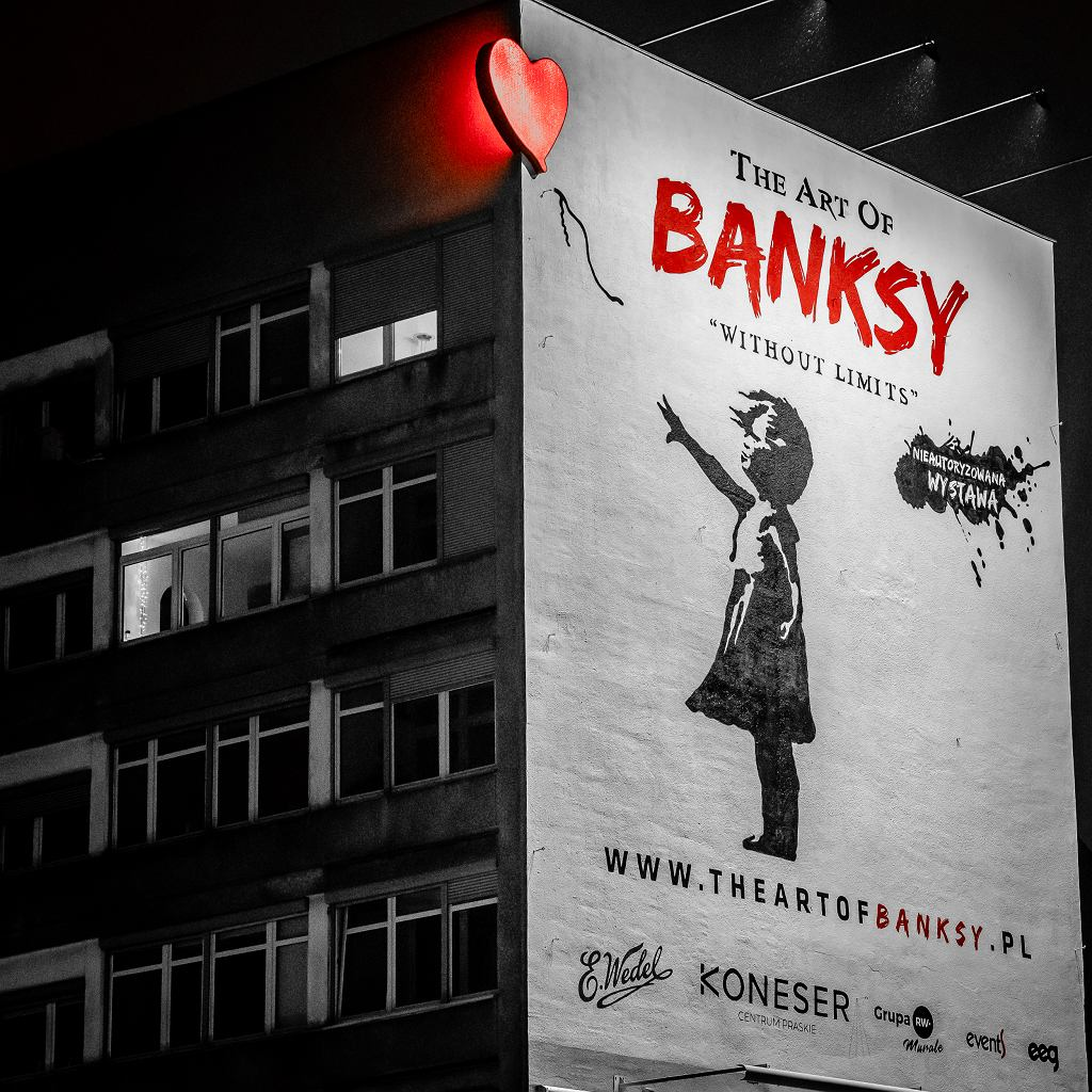 'The Art of Banksy. Without Limits' & E.Wedel