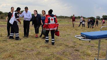 Katastrofa samolotu w Meksyku
