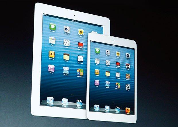 iPad 4 - cena: 2,2-3,5 tys. zł Mini - cena: 1,5-2,2 tys. zł