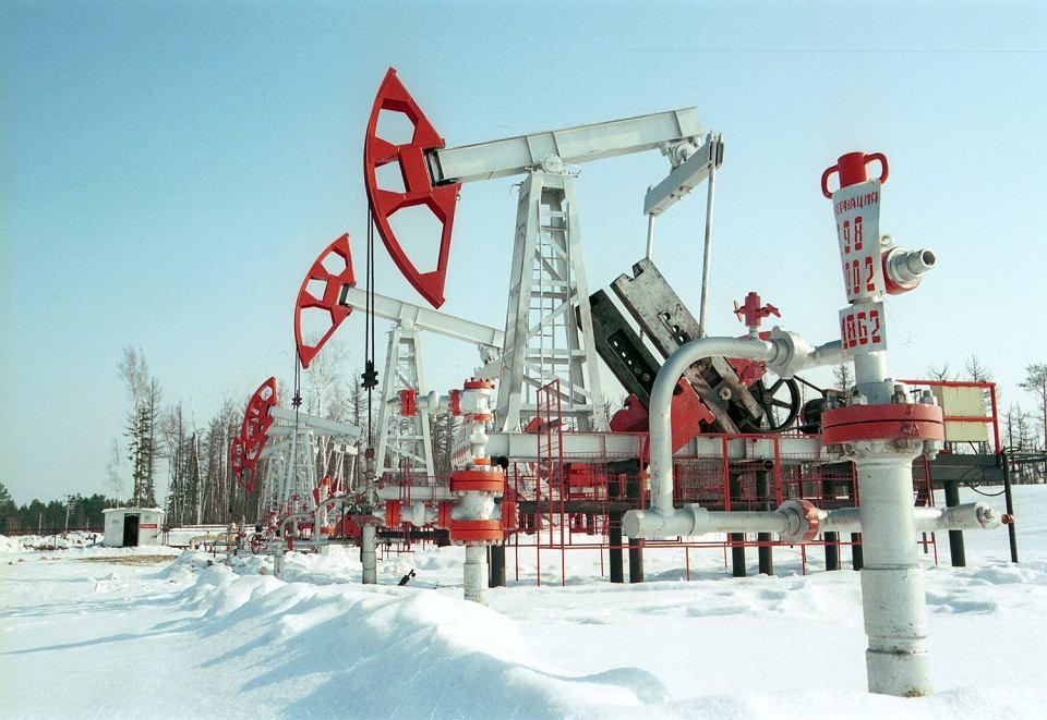 Rafineria na półwyspie Jamalskim w Rosji.