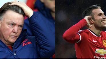 Louis van Gaal oraz Robin van Persie, Manchester United
