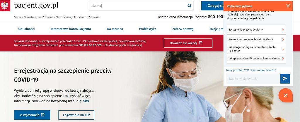 Konto e-pacjenta