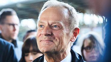 Donald Tusk (fot. Jan Rusek / Agencja Gazeta)