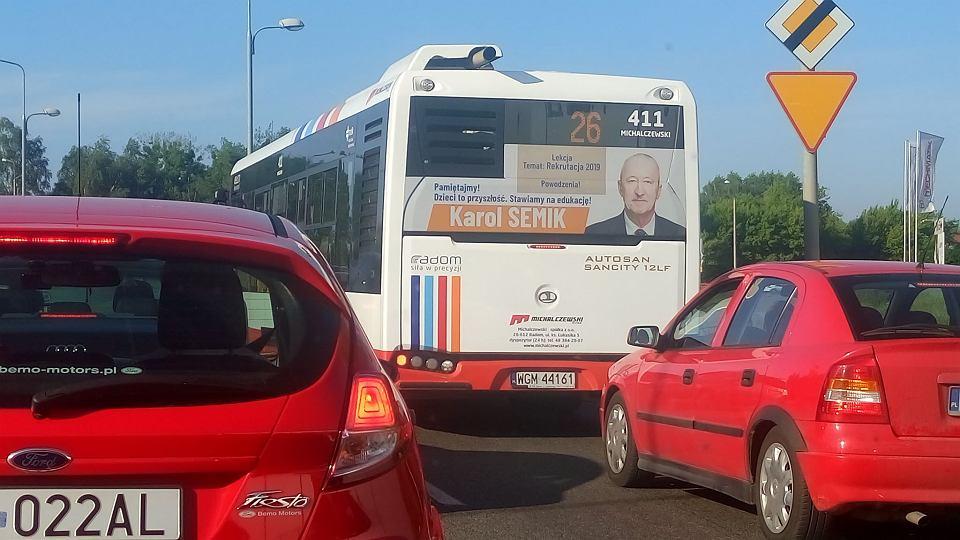 Kampania informacyjna wiceprezydenta Karola Semika