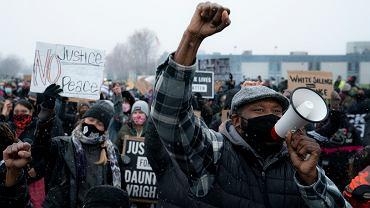 Protesty w Brooklyn Center