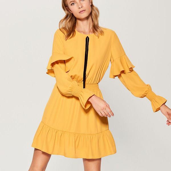 Sukienka z kolekcji Mohito Gold Label jesień 2018